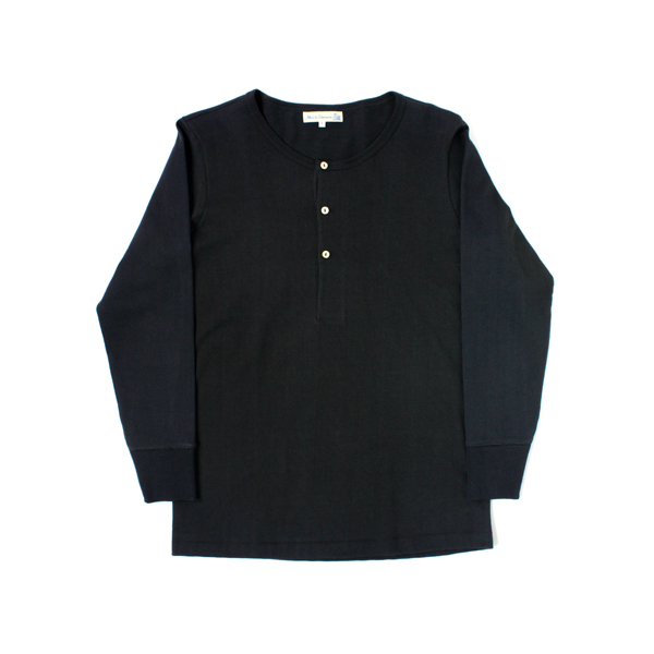 [Merz B. Schwanen] HENLEY LONG SLEEVE black