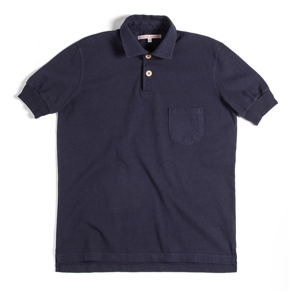 [EAST HARBOUR SURPLUS] [16S/S] Polo T-shirt_Navy