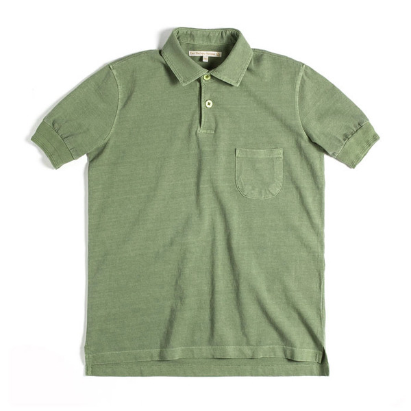 [EAST HARBOUR SURPLUS] [16S/S] Polo T-shirt_Khaki