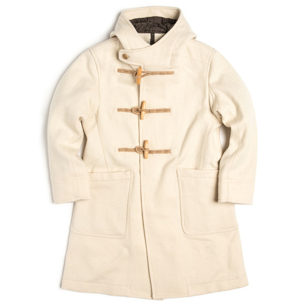 [EASTLOGUE] DUFFLE COAT 'OFF WHITE'