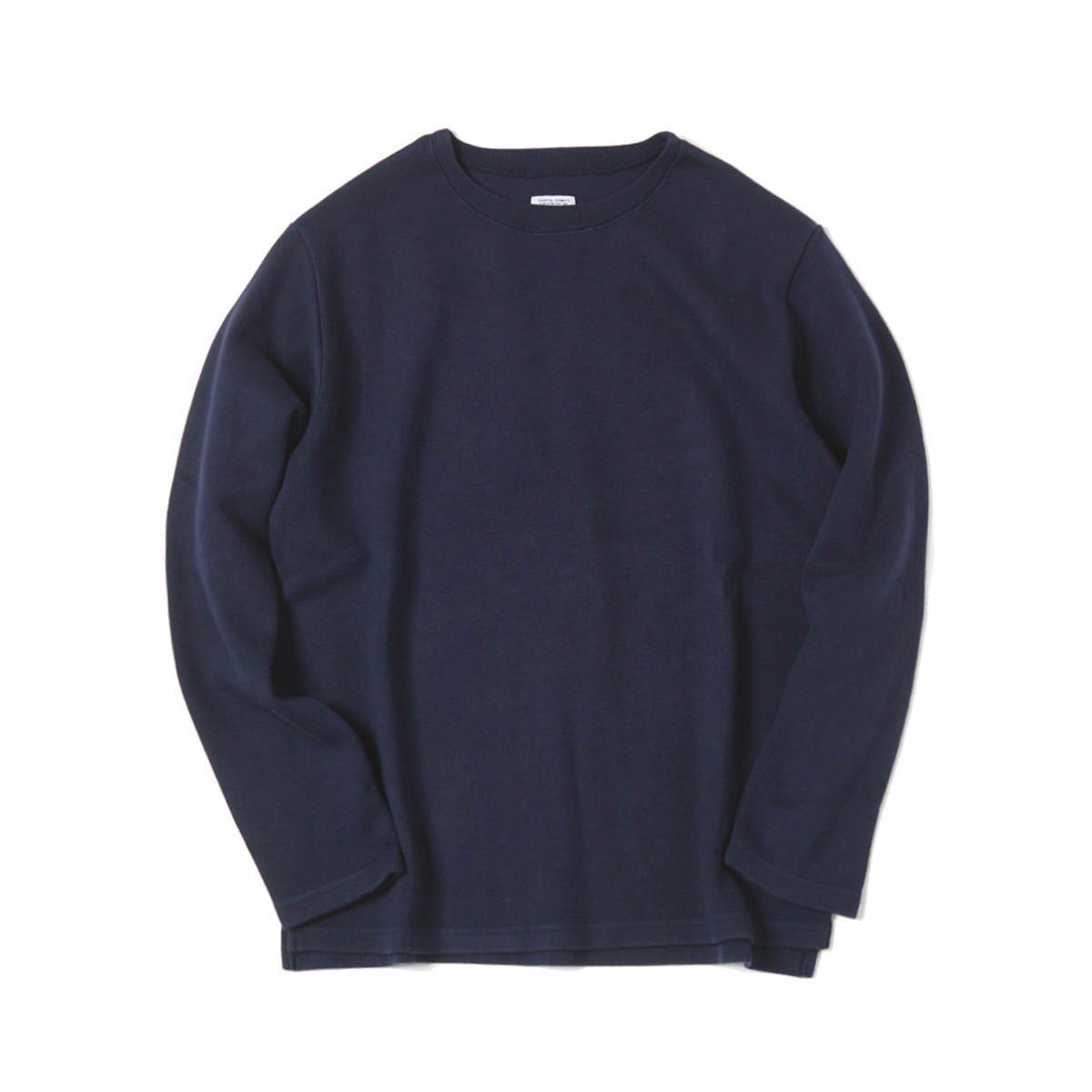 [ELSEWEAR] DON'T WORRY L/S TEE 'NAVY'