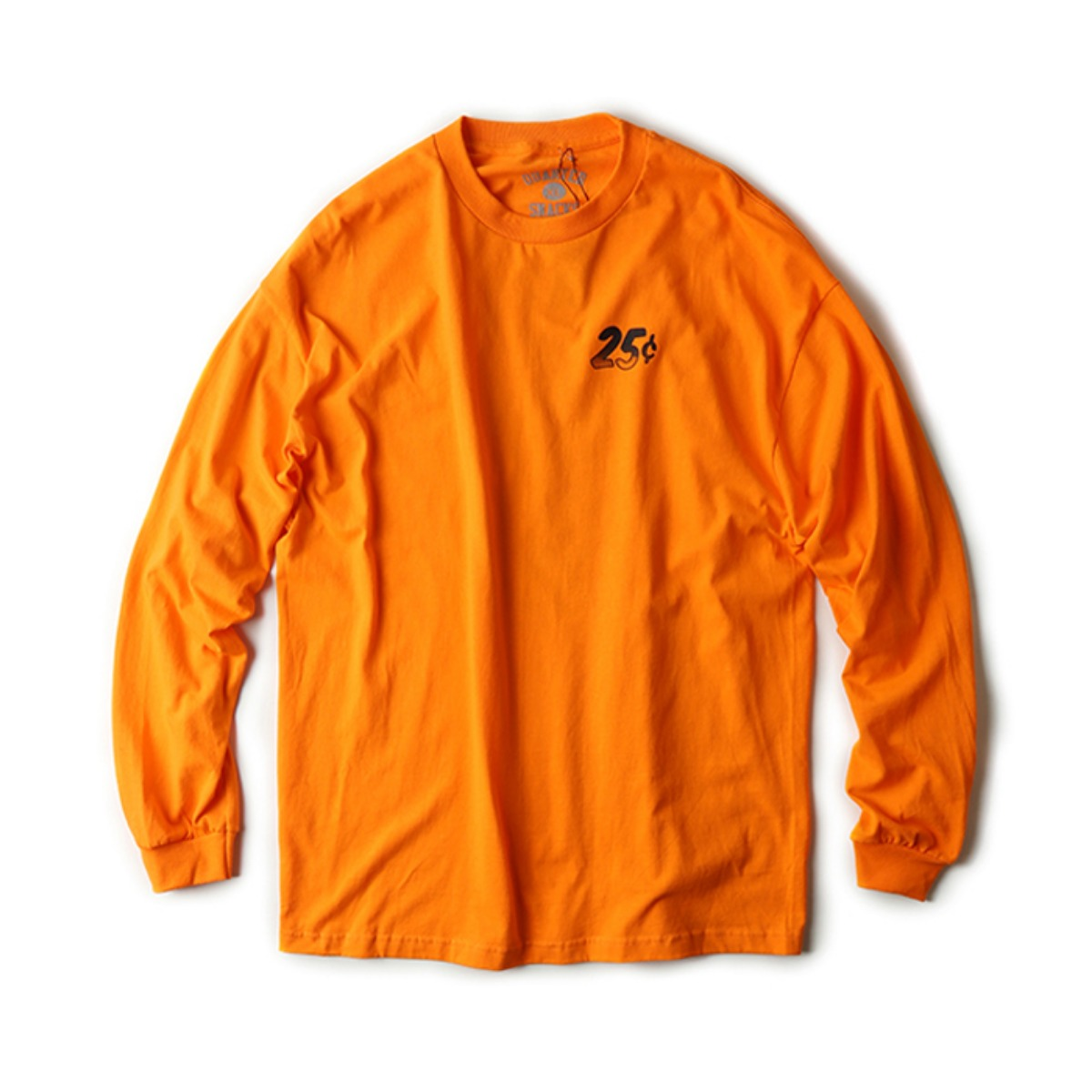 [QUARTERSNACKS] TRIPPY L/S TEE 'ORANGE'