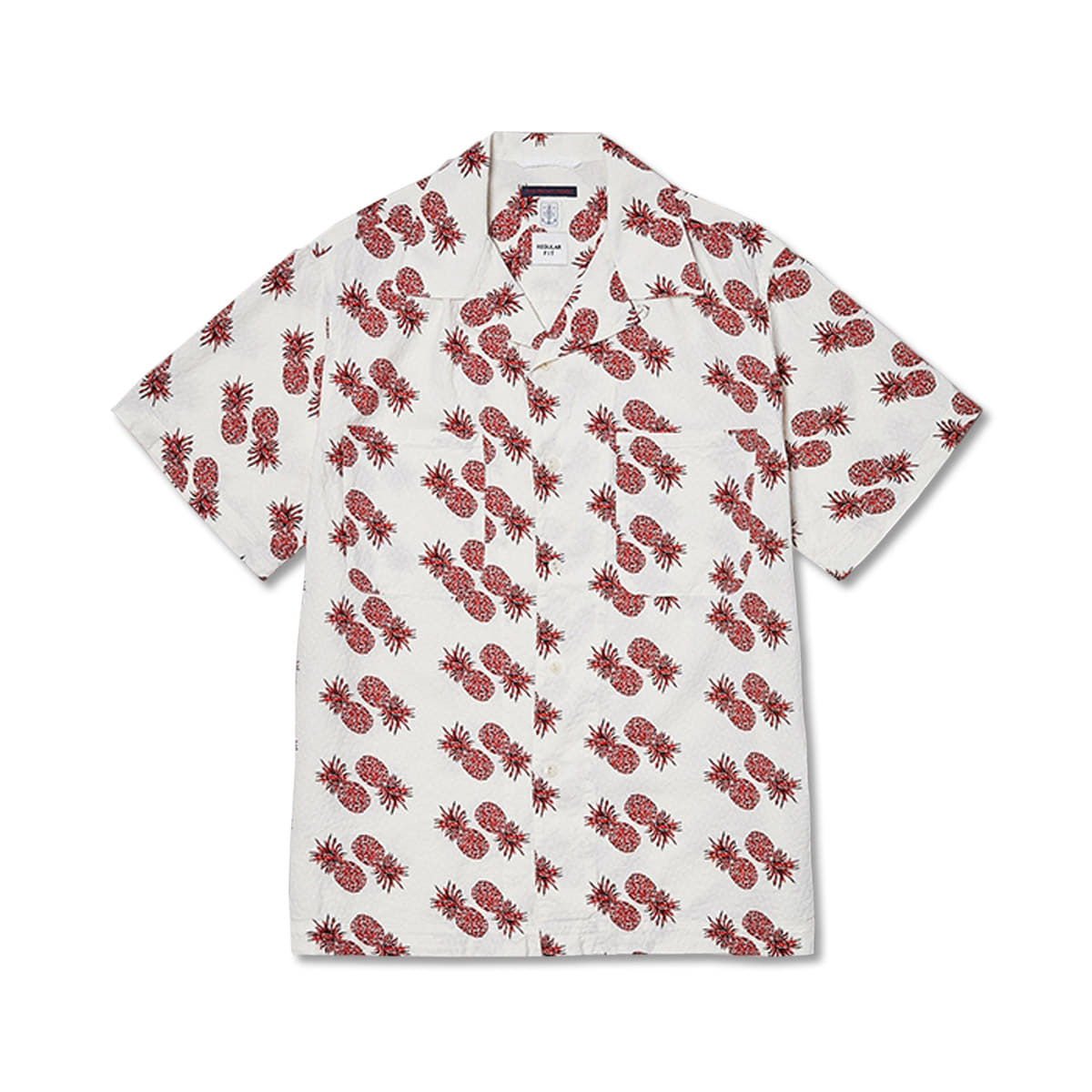 [EAST HARBOUR SURPLUS] MIAMI CAMP SHIRTS PINEAPPLE 'WHITE'