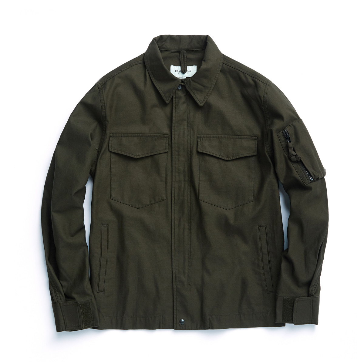 [EASTLOGUE] OG 106 JACKET 'OLIVE BACKSATIN'