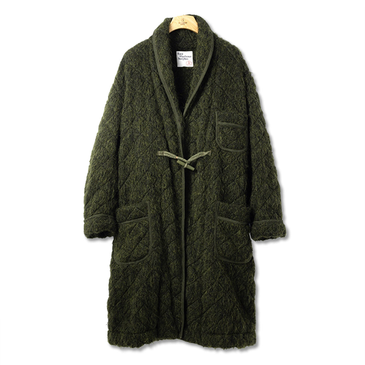 [EAST HARBOUR SURPLUS] OLDEEN COAT MILITARY 'GREEN'