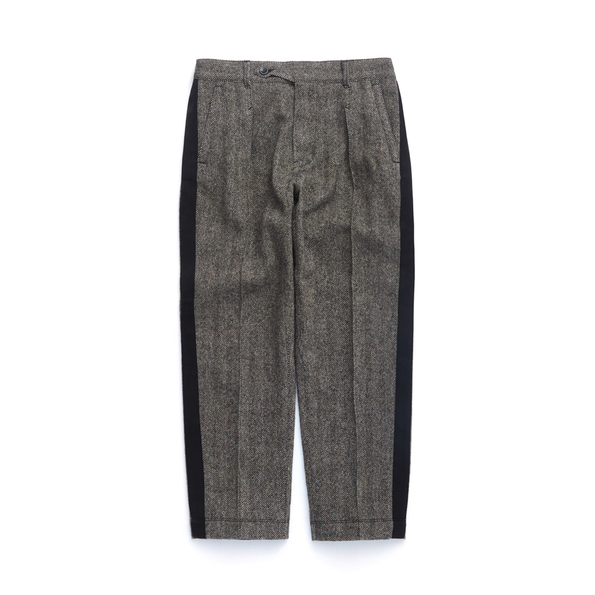 [EASTLOGUE] OFFICER PANTS 'BLACK/BEIGE HB'