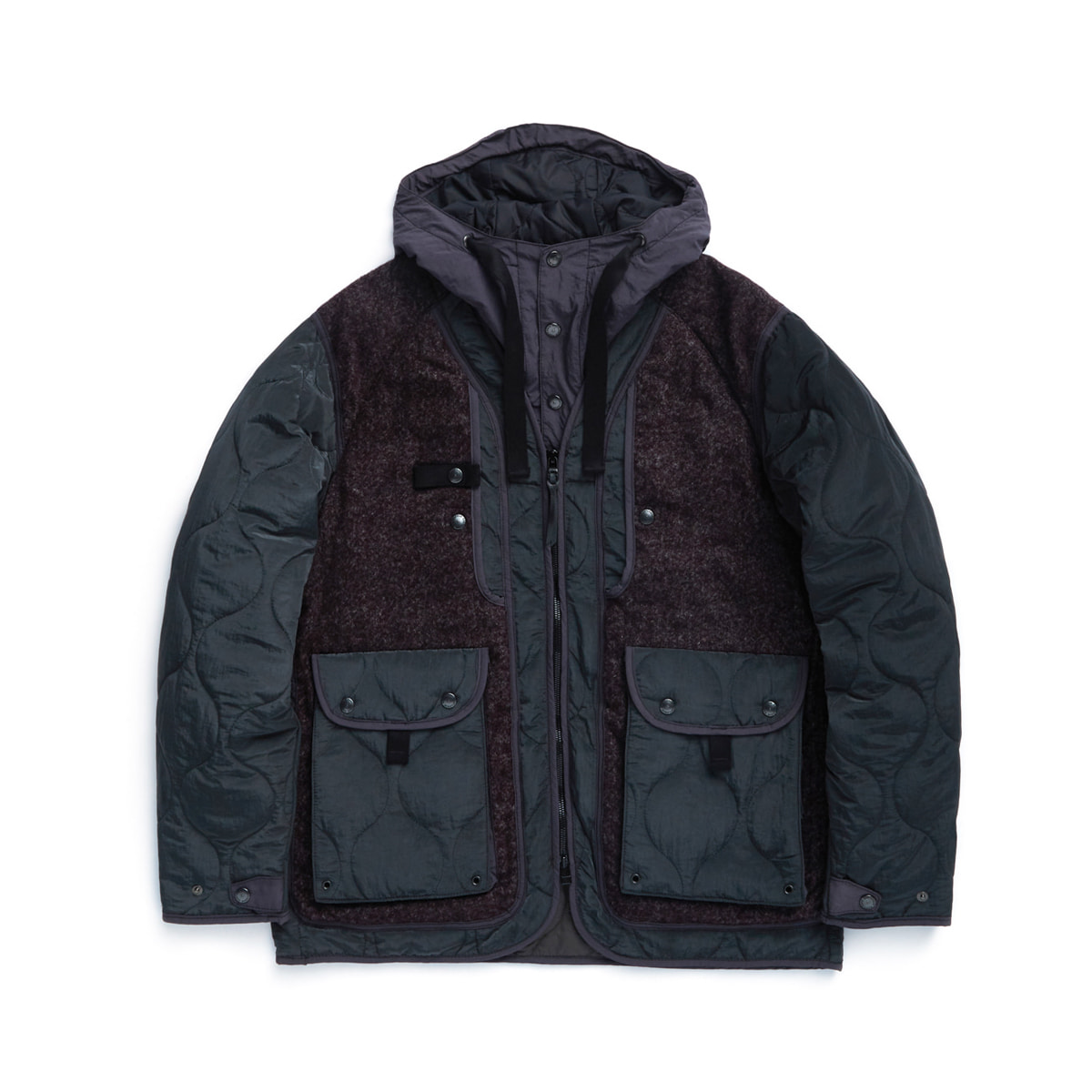 [EASTLOGUE] SHERPA PARKA 'PURPLE TOWEL'