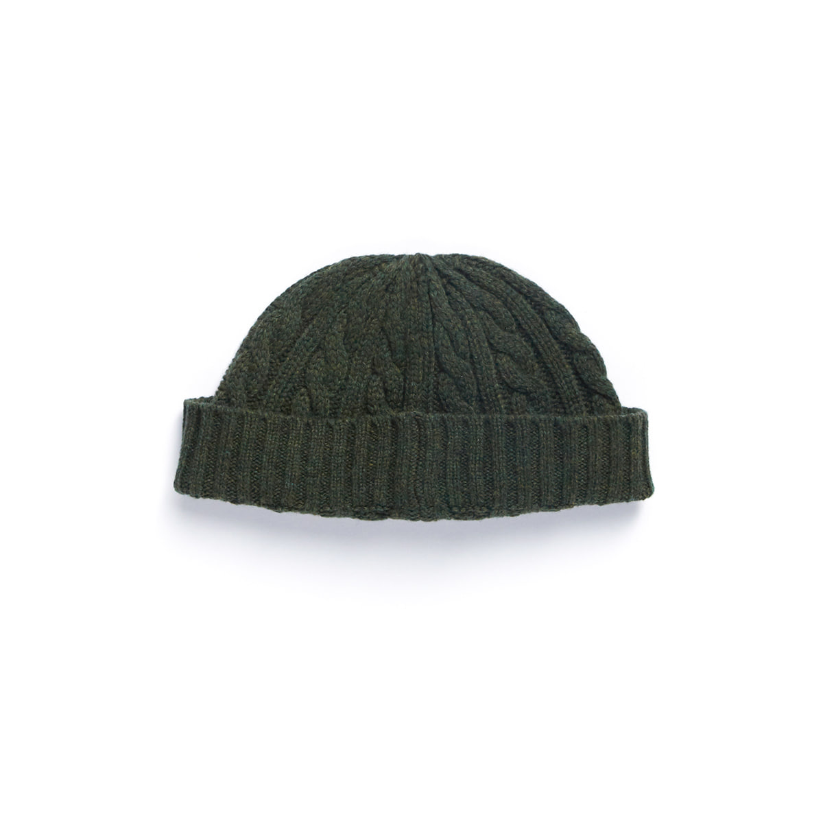[EASTLOGUE] FISHERMAN WATCH CAP 'D.OLIVE'