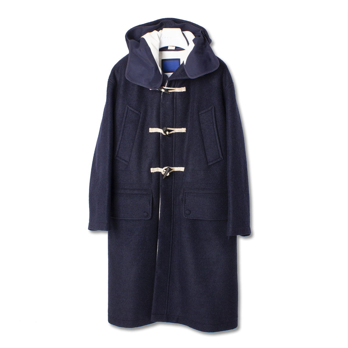 [DOCUMENT] THE DOCUMENT DUFFLE COAT 'NAVY'