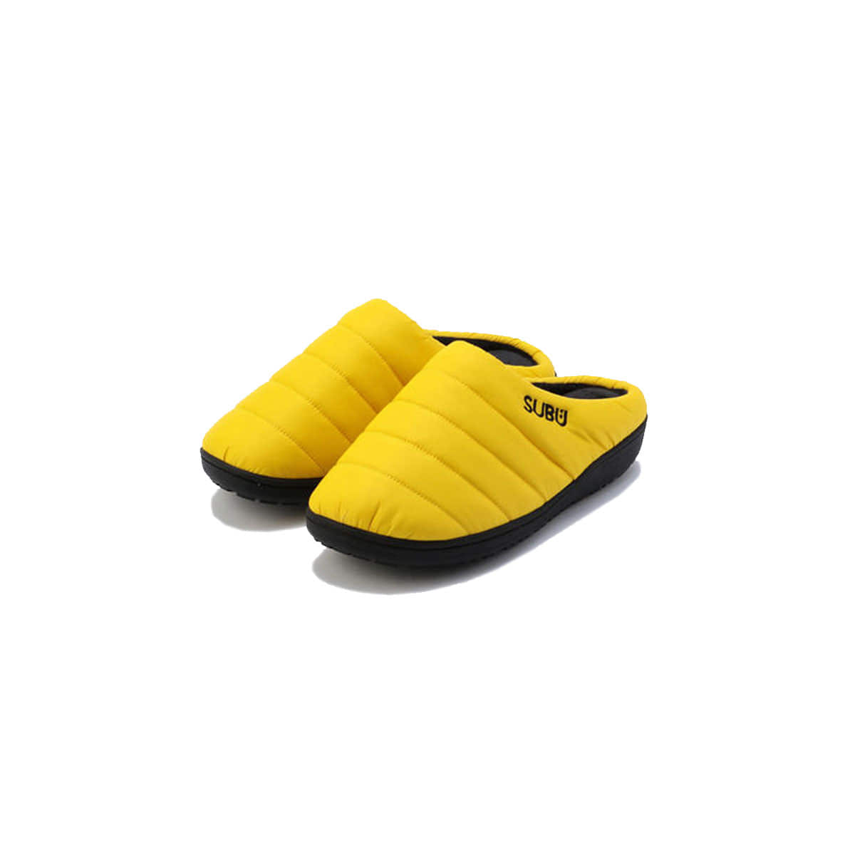 [SUBU] DOWN SANDAL 'VIBRANT YELLOW'