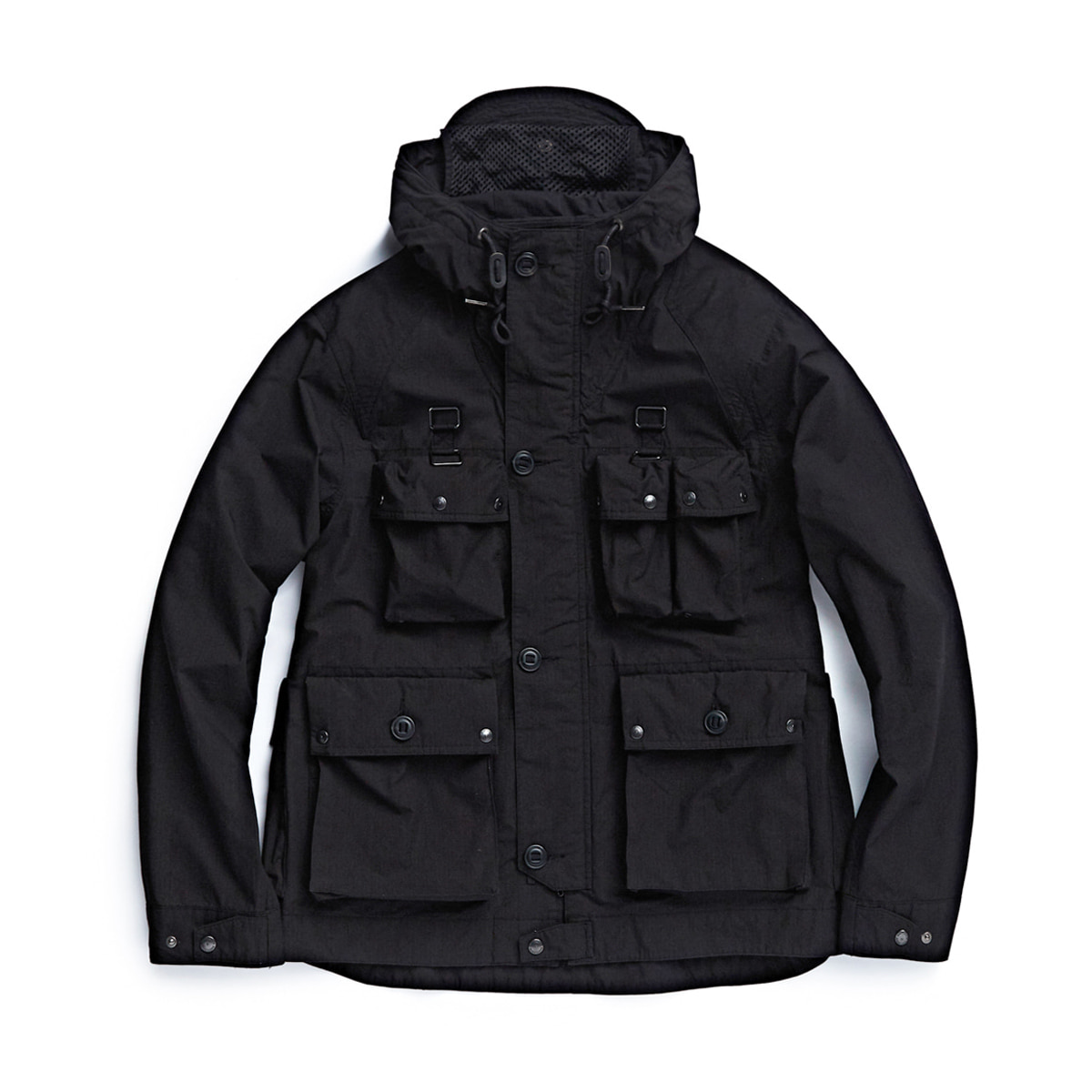 [EASTLOGUE] M70 PARKA 'BLACK RIPSTOP'