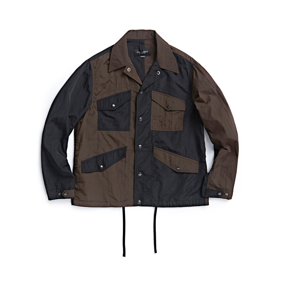 [EASTLOGUE] MECHANIC JACKET 'MIXED NYLON WASHER'