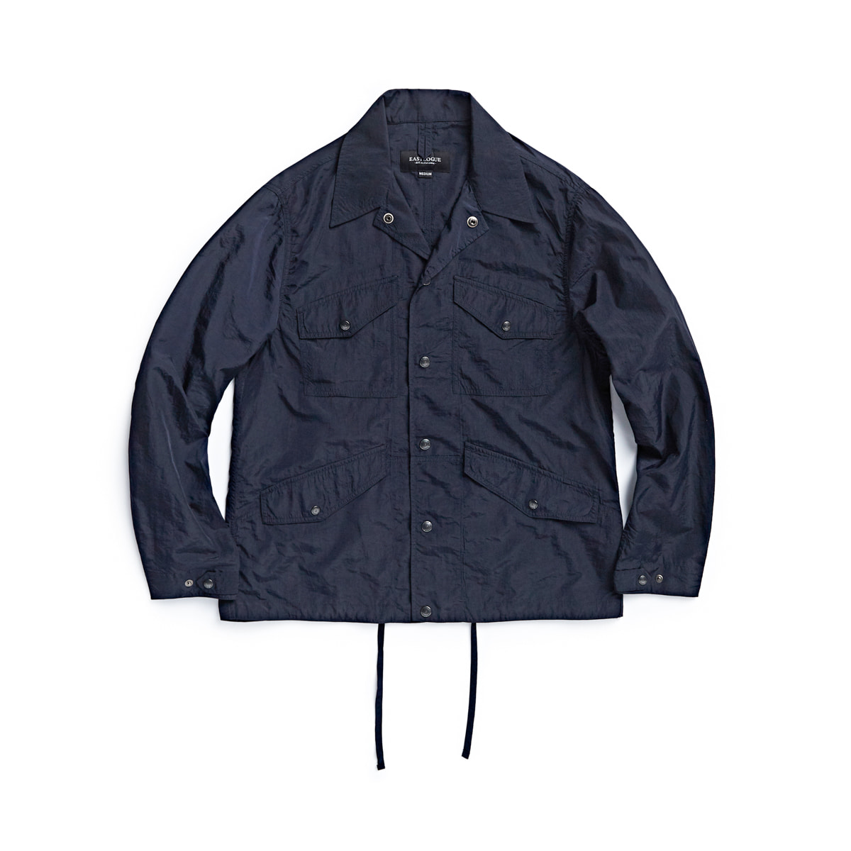 [EASTLOGUE] MECHANIC JACKET 'NAVY NYLON WASHER''