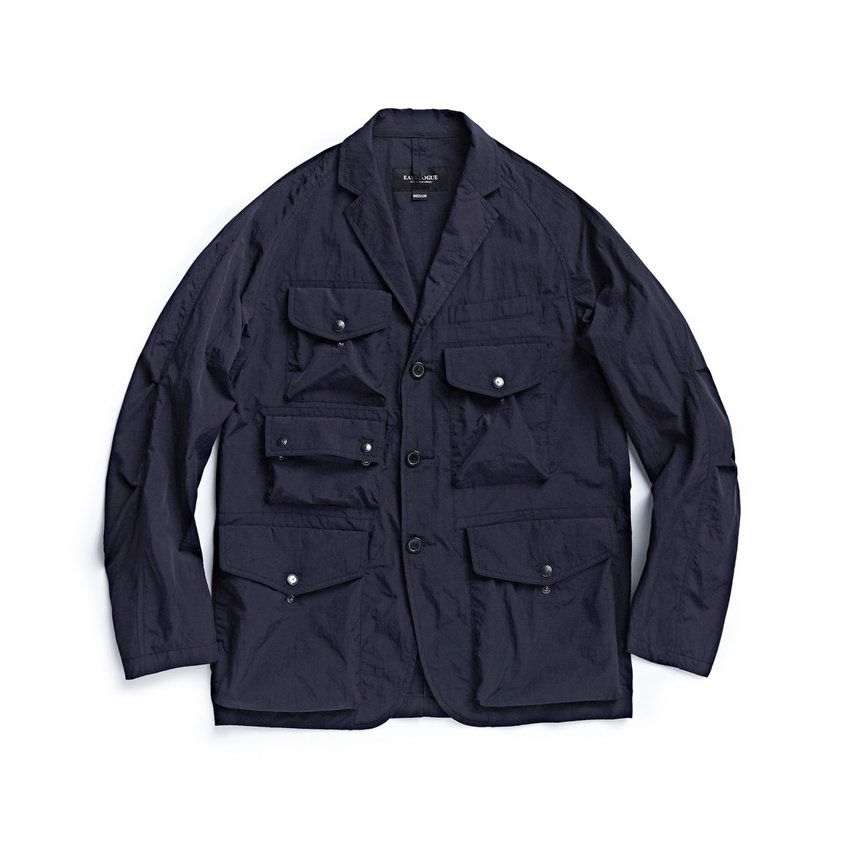 [EASTLOGUE] TREKKING JACKET 'NAVY NYLON WASHER'