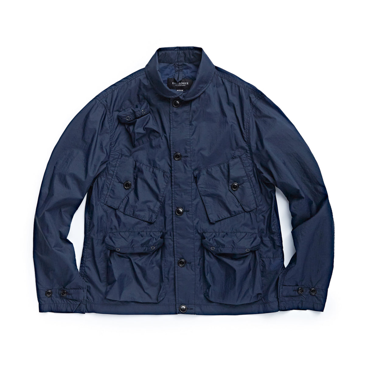 [EASTLOGUE] C-1 JACKET 'NAVY NYLON RIPSTOP'