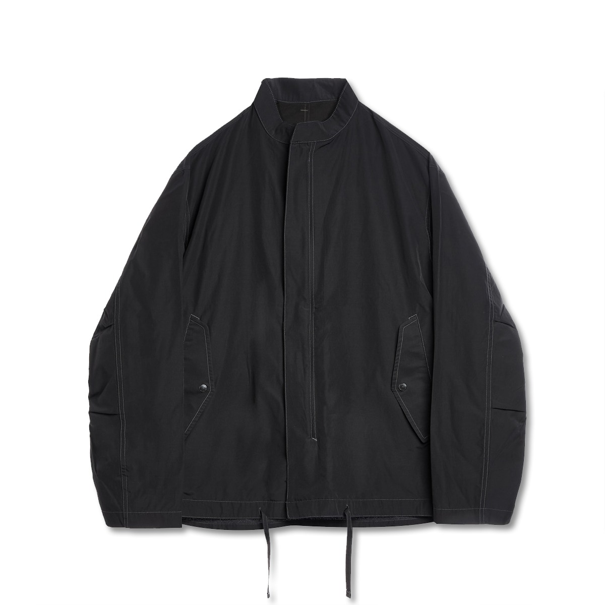 [EASTLOGUE] FISHTAIL SHIRT JACKET 'BLACK'