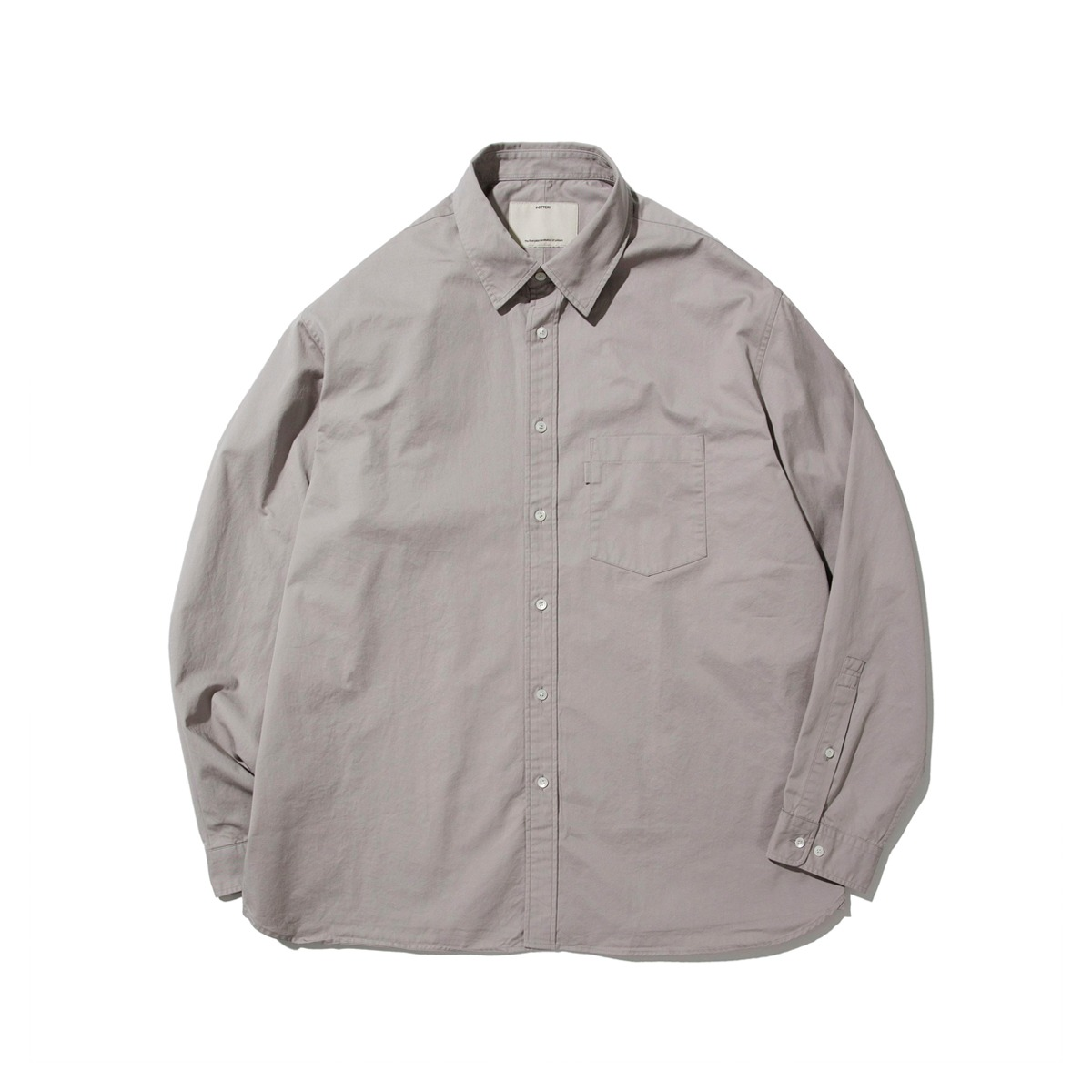 [POTTERY] COMFORT SHIRT 'GRAY'