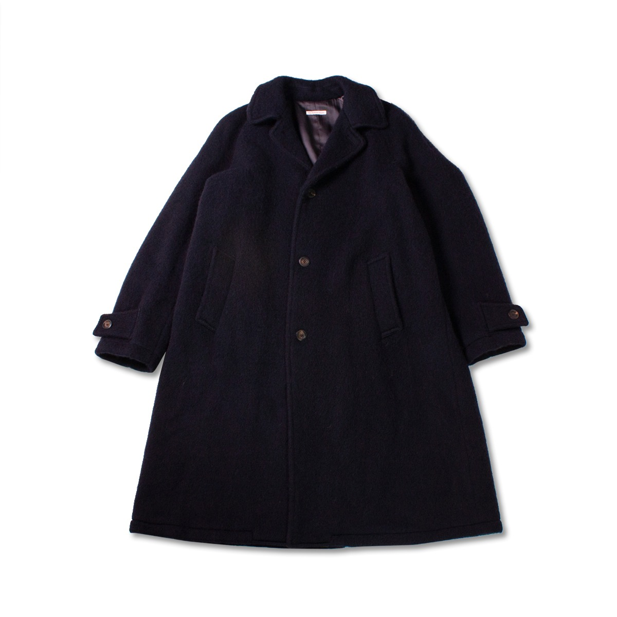 [EAST HARBOUR SURPLUS] PETER RAGLAN COAT 'NAVY'