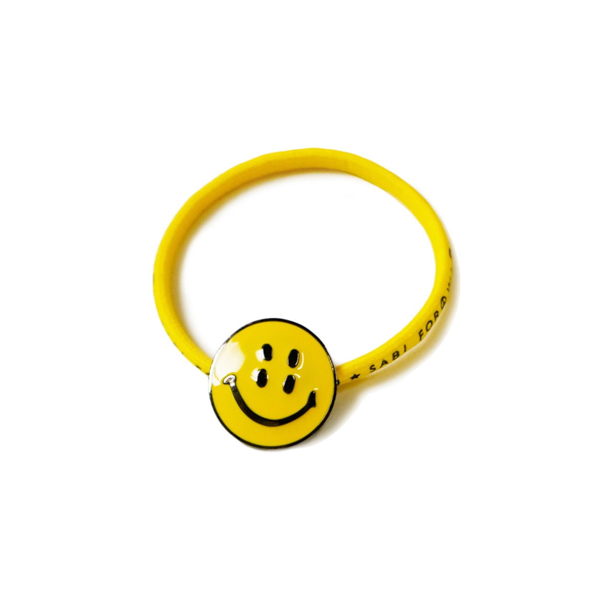 [KAPITAL] RAIN SMILE CONCHO HAIRBAND 'YELLOW'