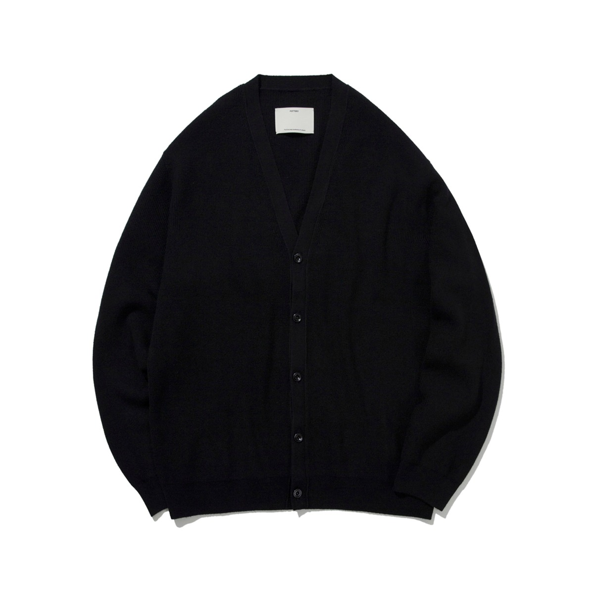 [POTTERY] COMFORT CARDIGAN 'BLACK'