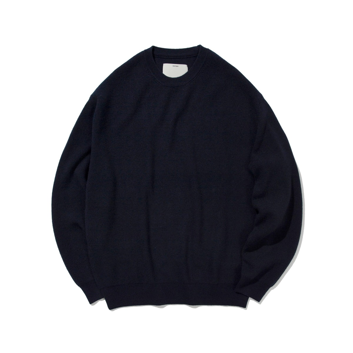 [POTTERY] COMFORT CREWNECK KNIT 'NAVY'
