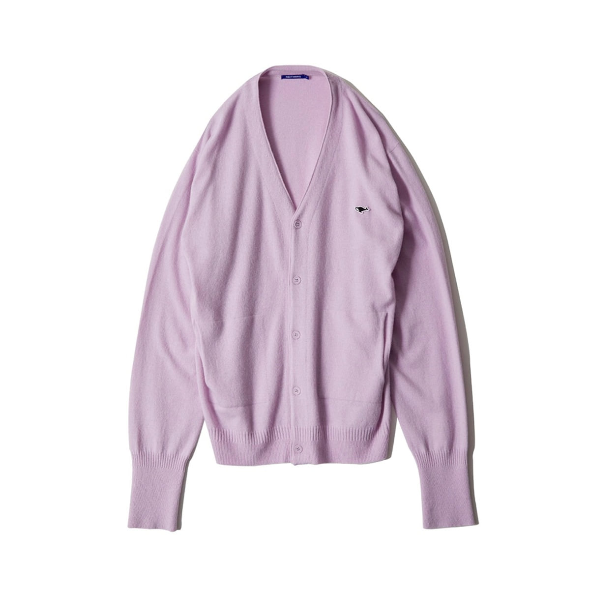 [NEITHERS] D5001-1 S MERINO CARDIGAN '	LAVENDER'