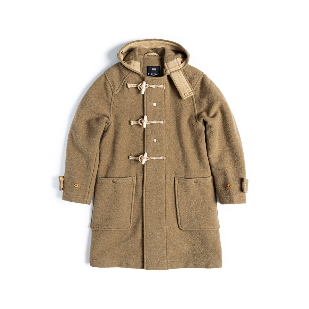 [EASTLOGUE] EASTLOGUE X GLOVERALL MONTY DUFFLE COAT 'CAMEL'