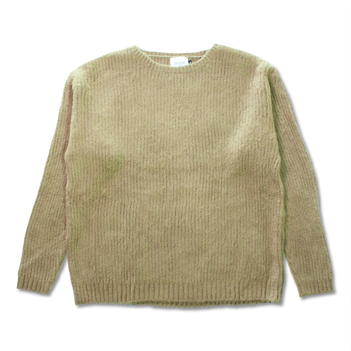 [CAL O LINE] MOHAIR SWEATER 'COYOTE'
