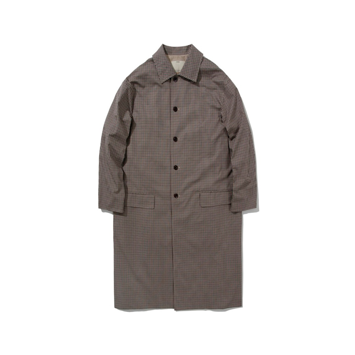 [POTTERY] COTTON MAC COAT 'GUN CLUB CHECK'