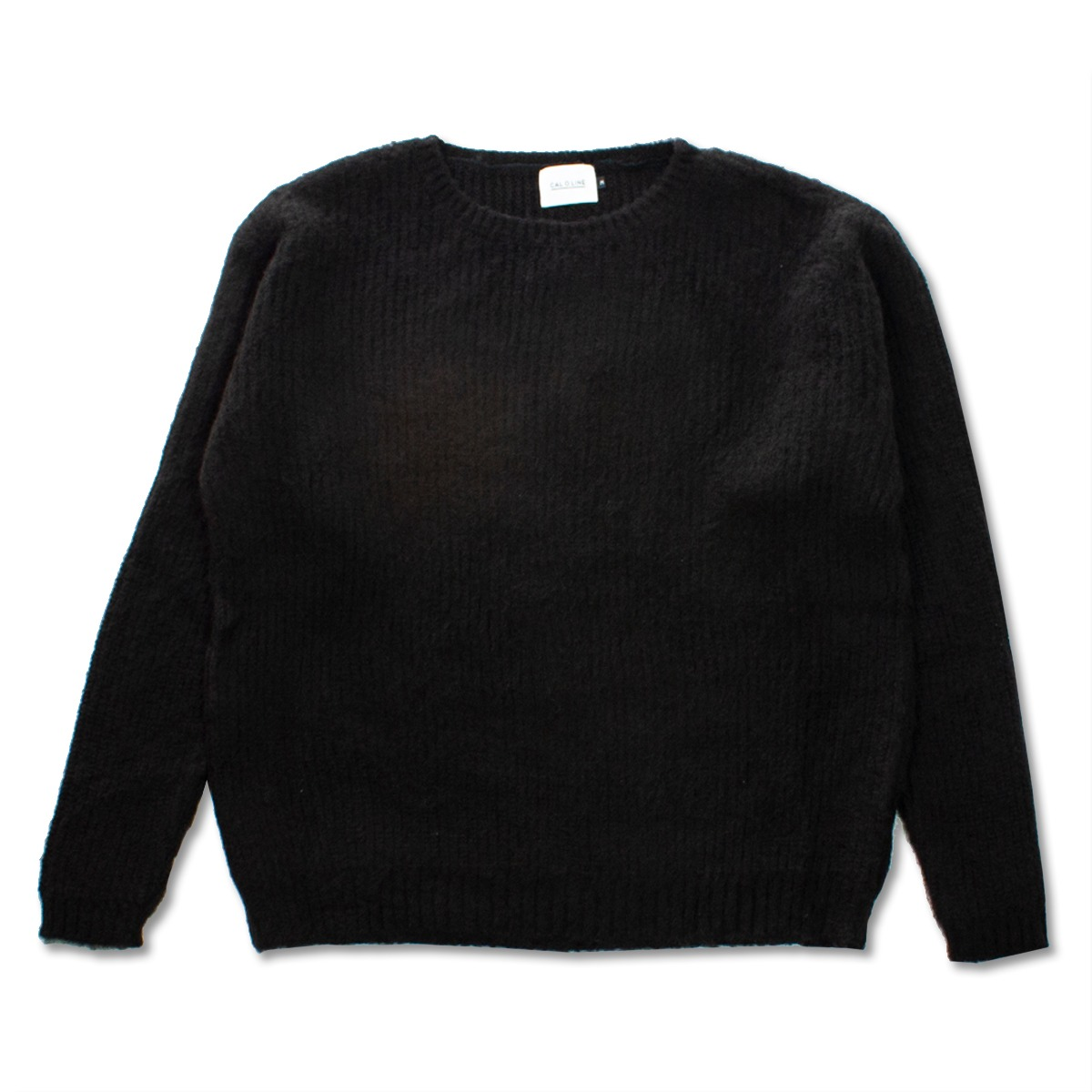[CAL O LINE] MOHAIR SWEATER 'BLACK'