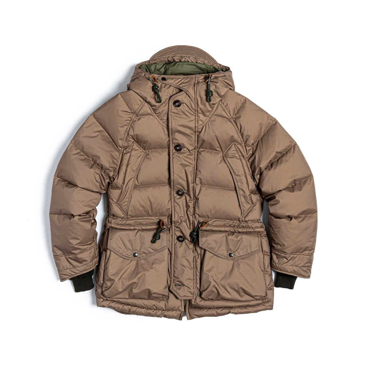 [EASTLOGUE] UTILITY SHIELD PARKA 'DARK BEIGE'