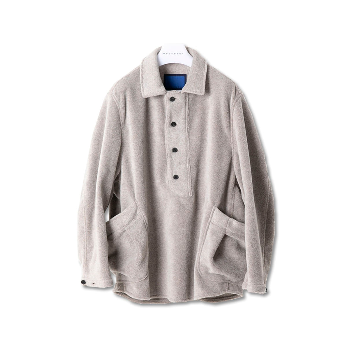 [DOCUMENT] BUTTON PLACKET SMOCK SHIRT