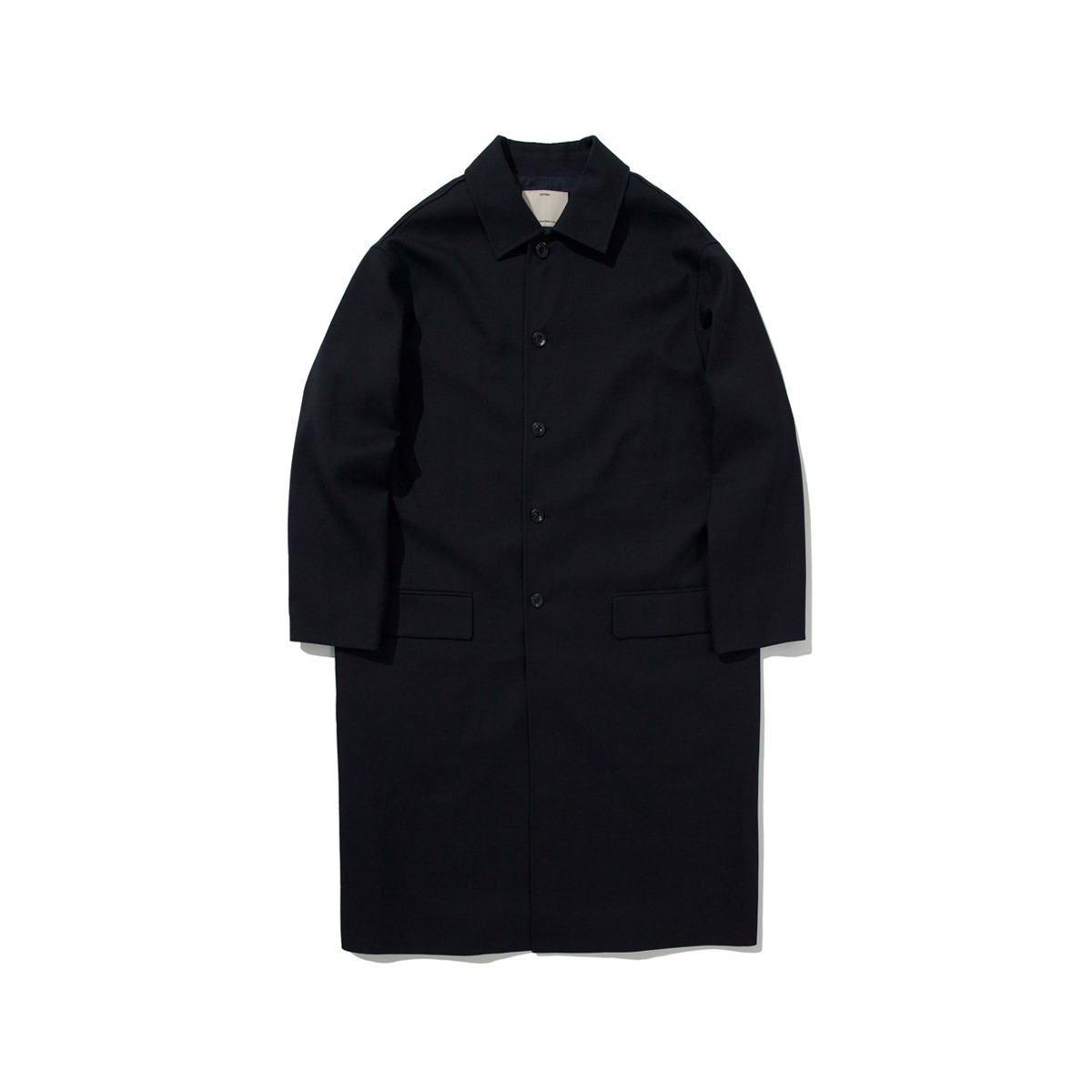 [POTTERY] WOOL MAC COAT 'DARK NAVY'