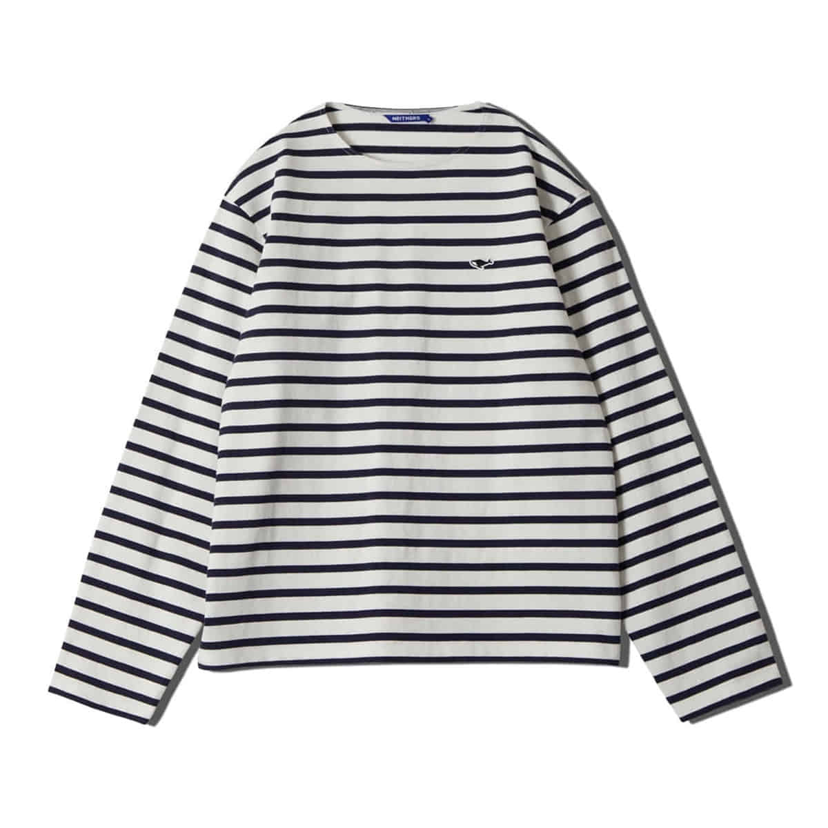 [NEITHERS] STRIPE L/S T-SHIRT 'OFF WHITE'