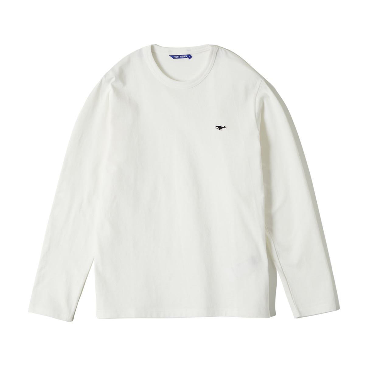 [NEITHERS] S L/S T-SHIRT 'OFF WHITE'