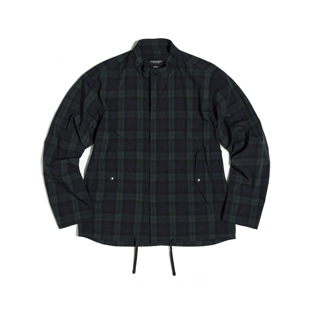 [EASTLOGUE] FISHTAIL SHIRT JACKET 'BLACK WATCH'