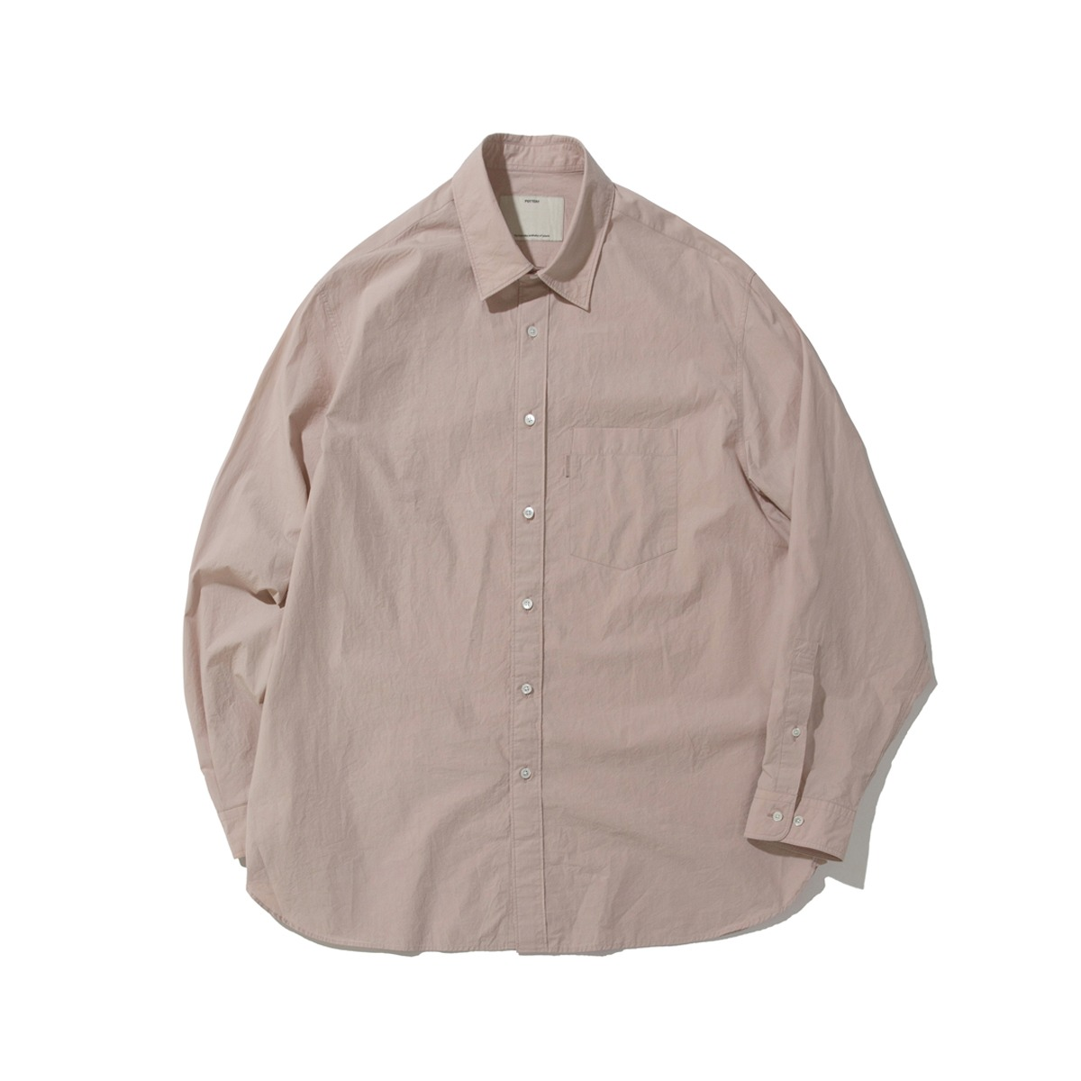 [POTTERY] COMFORT SHIRT 'DUSTY PINK'