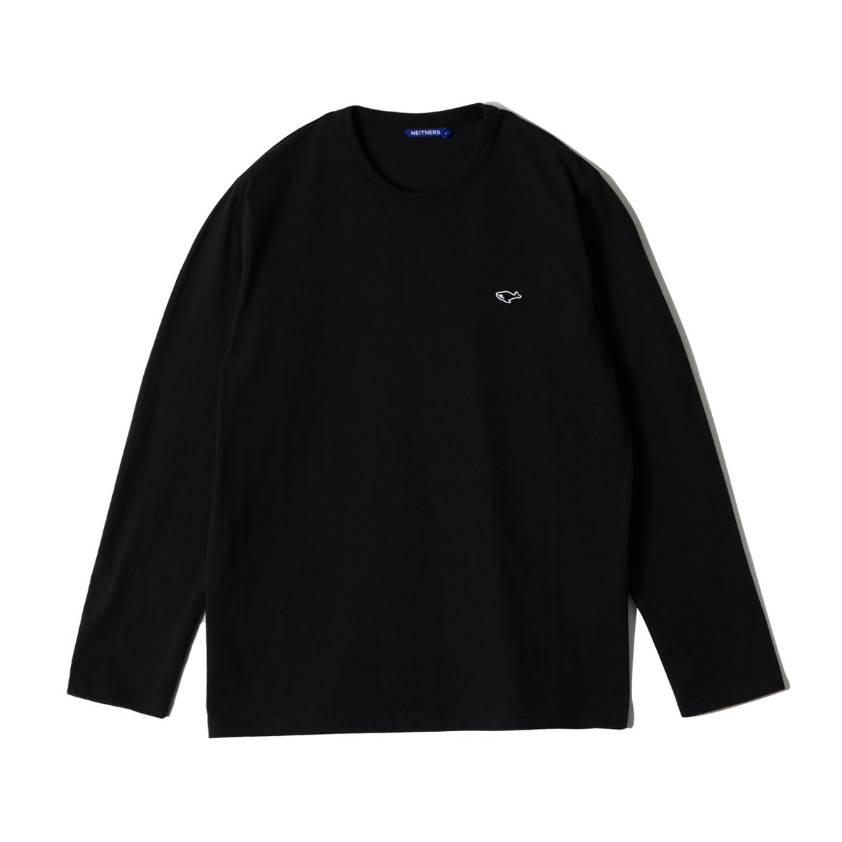 [NEITHERS] S L/S T-SHIRT 'BLACK'