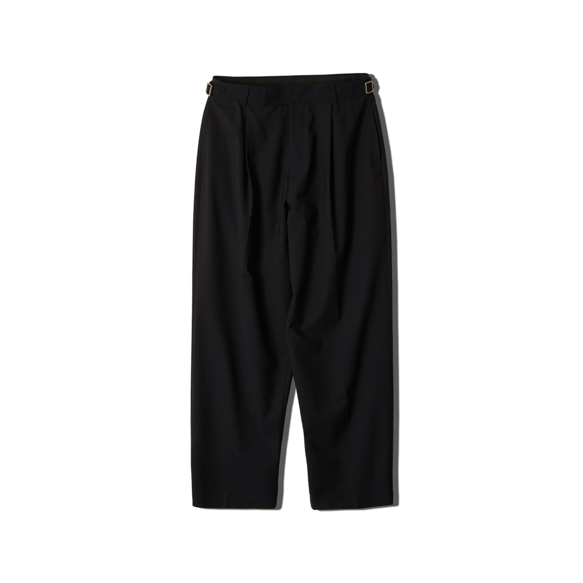 [NEITHERS] WOOL TAILORED LOOSE PANTS 'NAVY'