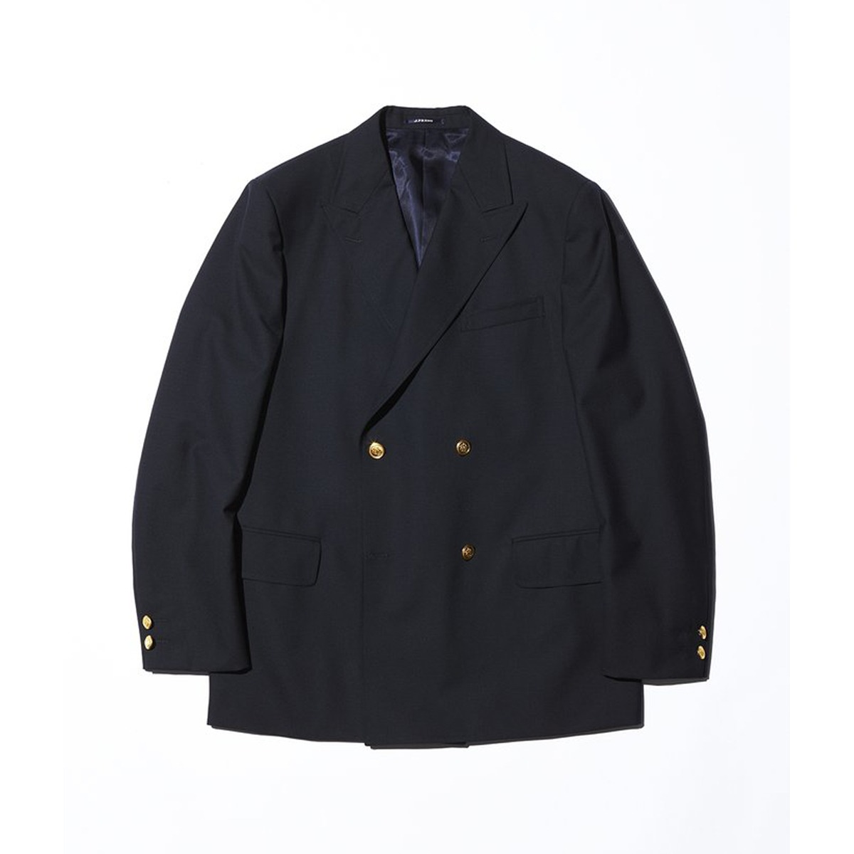 [J PRESS] PEPPIN MERINO TROPICAL 4B AUTHENTIC BLAZER 'NAVY'