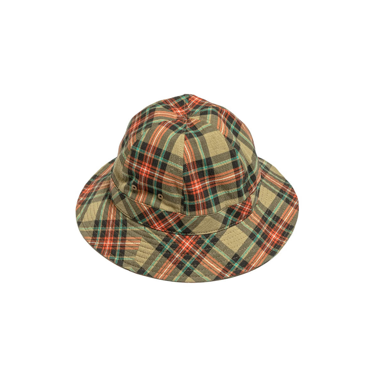 [EASTLOGUE] BUCKET HAT 'BEIGE MULTI CHECK'