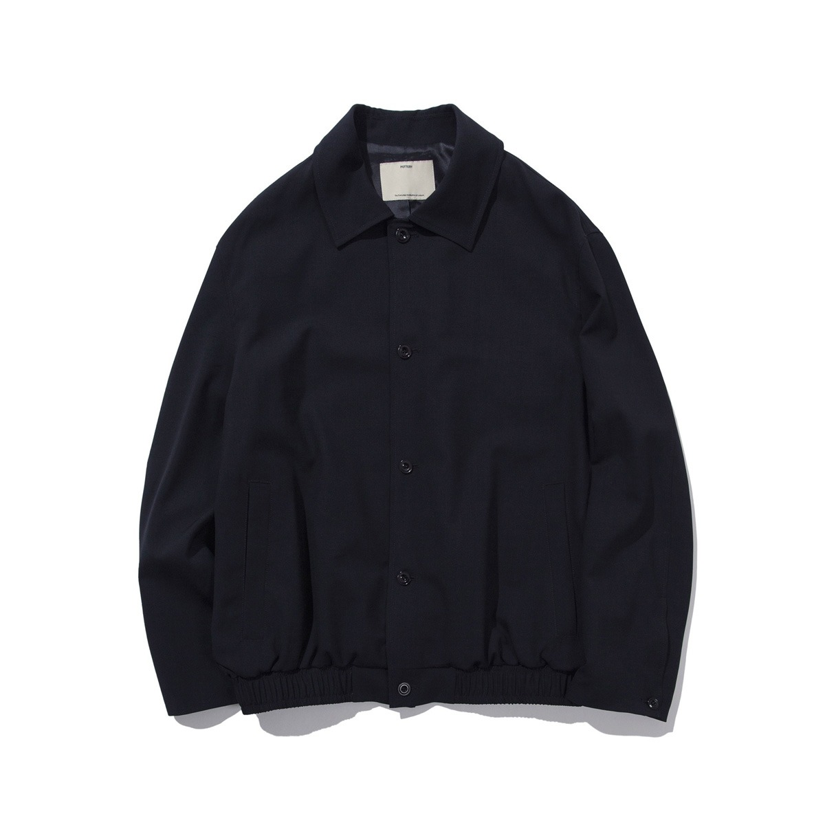 [POTTERY] WOOL BLOUSON 'DARK NAVY'