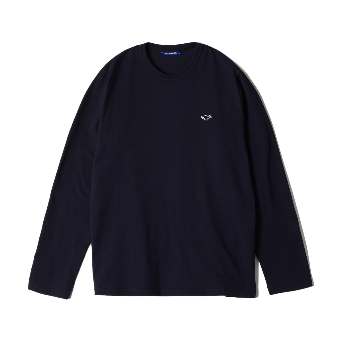 [NEITHERS] S L/S T-SHIRT 'NAVY'