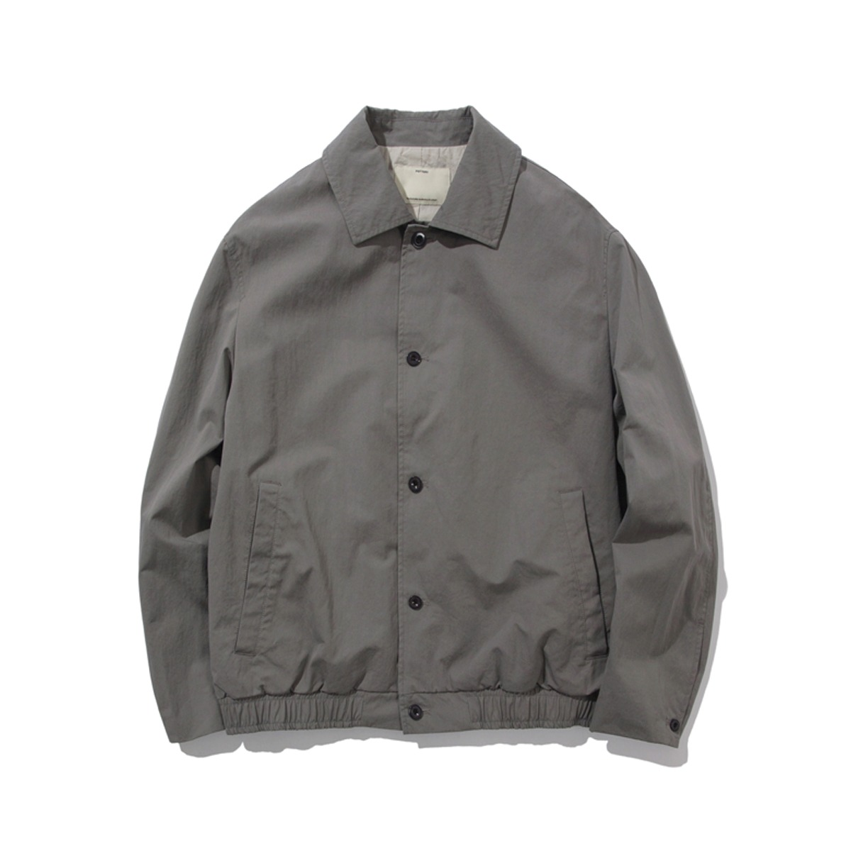 [POTTERY] COTTON BLOUSON 'STEEL GRAY'