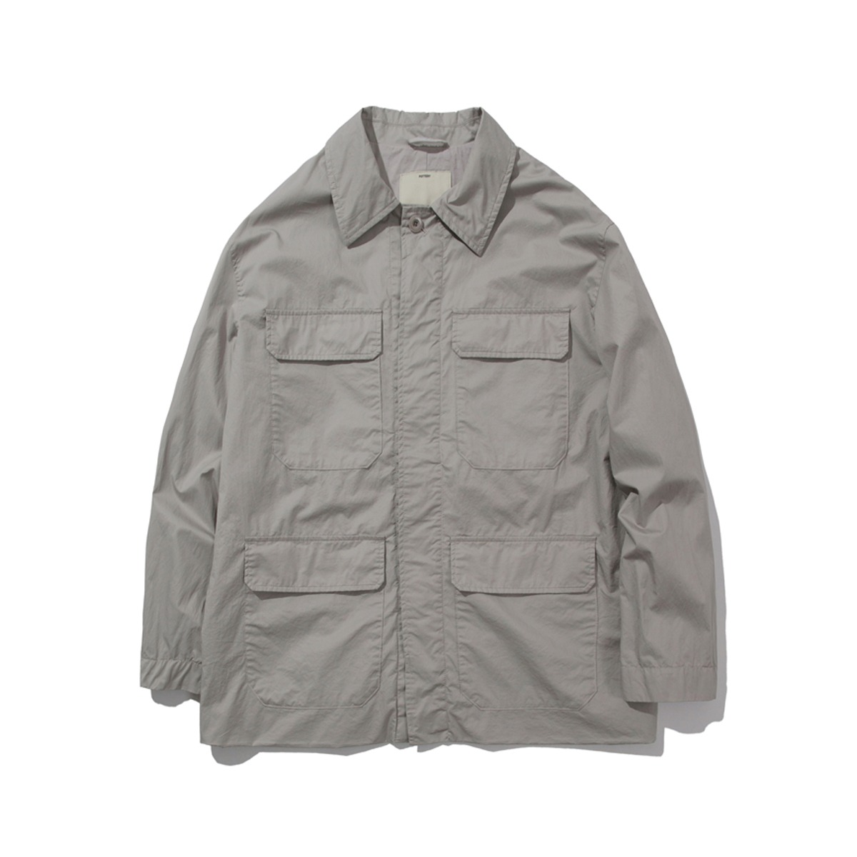 [POTTERY] COTTON FATIGUE JACKET 'SILVER BEIGE'