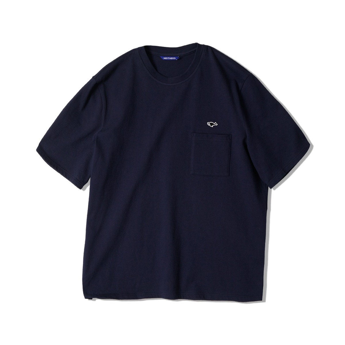 [NEITHERS] 1-POCKET T-SHIRT 'NAVY'