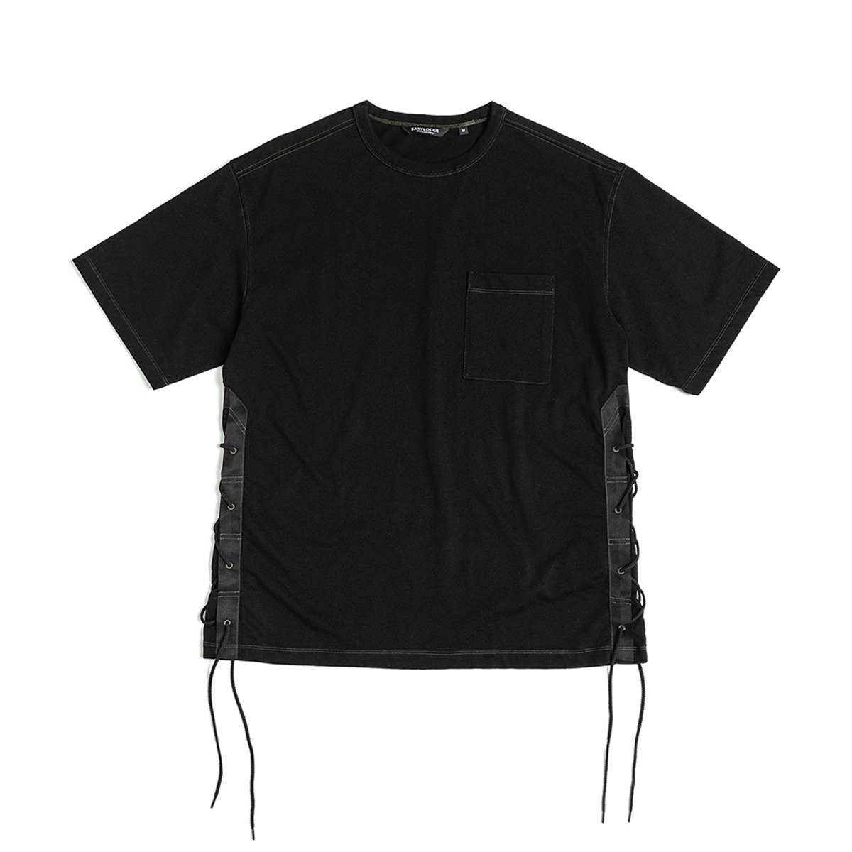 [EASTLOGUE] FLAK T-SHIRT 'BLACK'