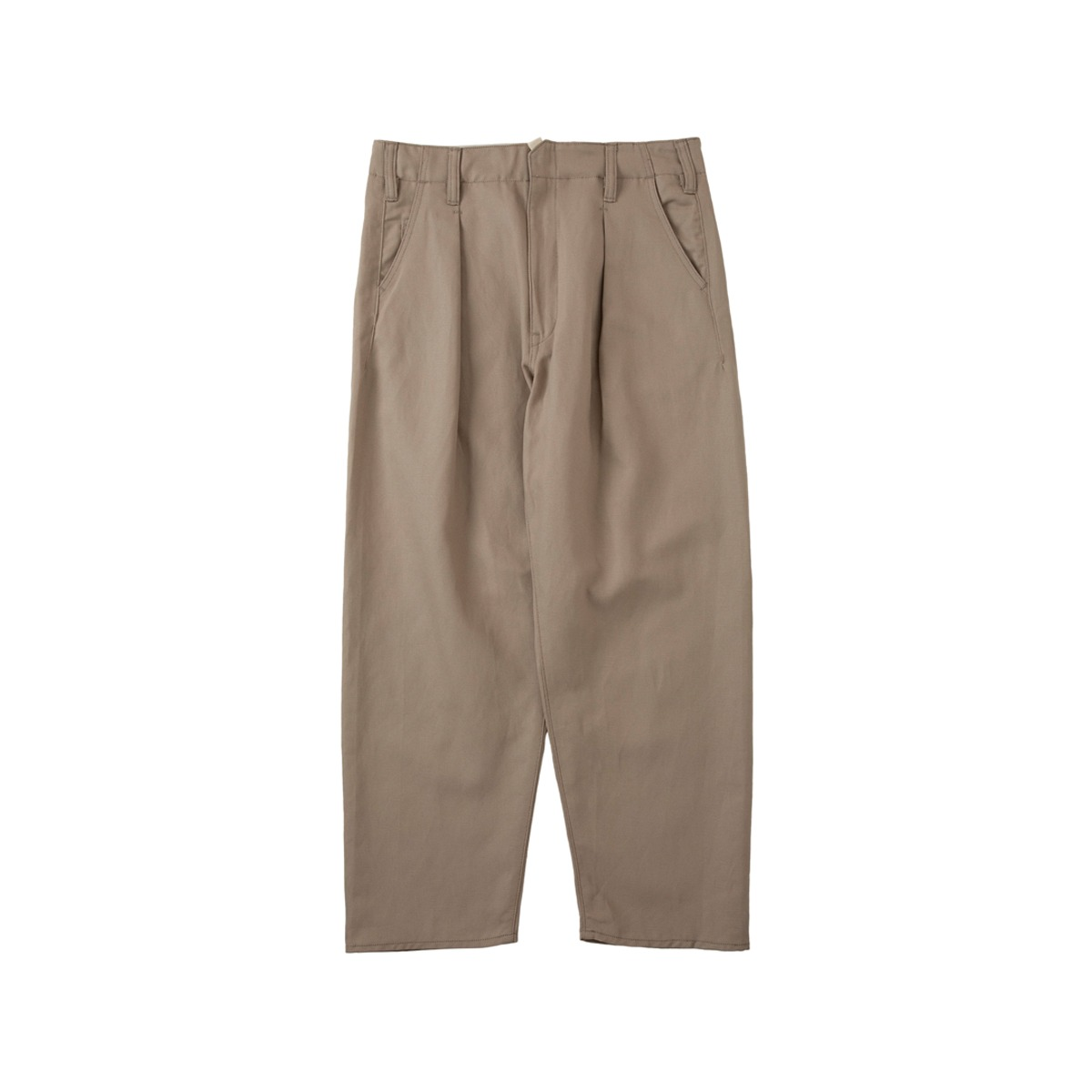 [SABY] BIG PANTS - WHITE LINEN 'GREGE'
