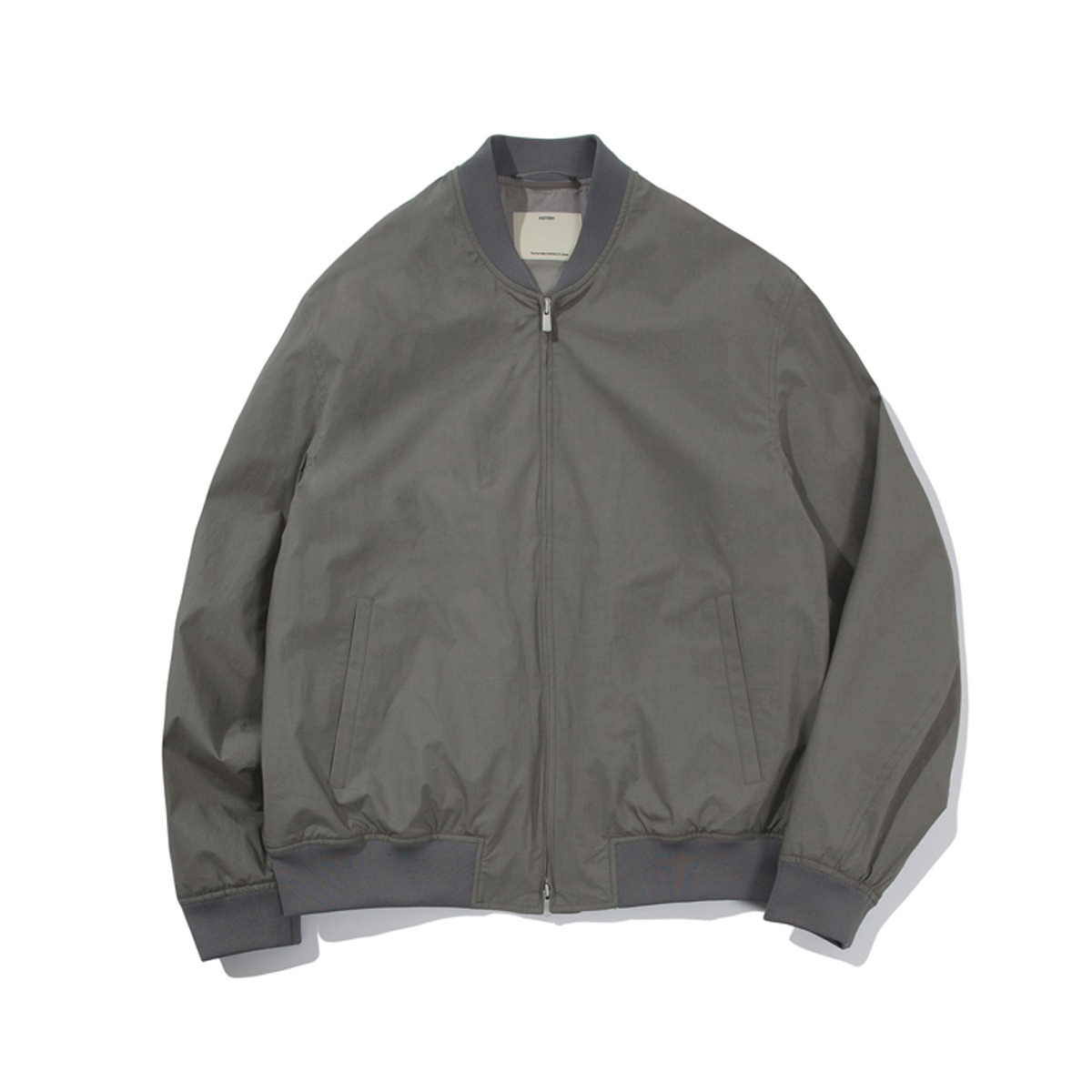 [POTTERY] BOMBER JACKET 'GRAY'