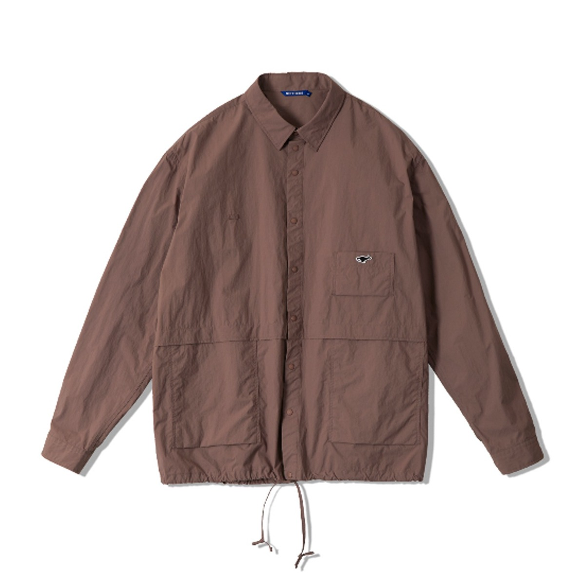 [NEITHERS] UTILITY SHIRT 'BROWN'